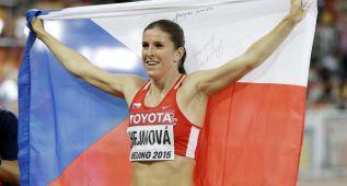 Hejnova, primera atleta que revalida título en 400m vallas