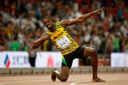 El rey Bolt también gana la final de los 200 metros