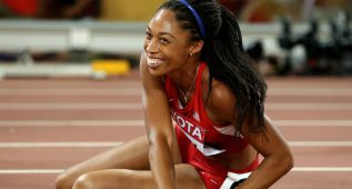 Allyson Felix gana en 400 su noveno oro en Mundiales