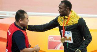 Tao, el cámara chino, pidió perdón a Usain Bolt