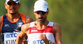 El eslovaco Toth, oro en 50 kms. marcha y Bragado, noveno