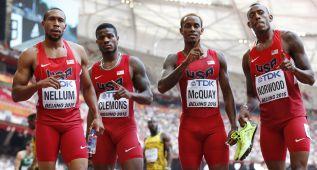 EE UU y Jamaica, marcas del año en 4x400 y 4x100