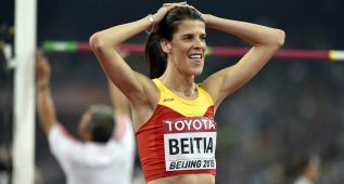Ruth Beitia, quinta en la final