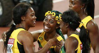 Fraser-Pryce remata el oro de Jamaica con récord nacional