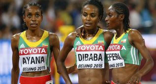 Ayana rompe a Dibaba y 'pleno' etíope en 5.000 metros
