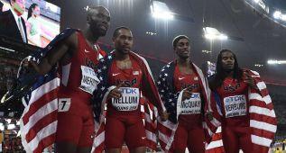 Sexto título seguido y marca mundial de EE UU en 4x400
