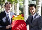 Rajoy recibe a Miguel Ángel López en La Moncloa