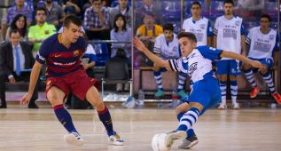 Un 9-1 sitúa líder al Barcelona igualado con ElPozo y Palma