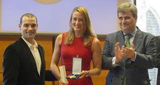 Mireia, Gascón y Rodés, medallas de oro al Mérito Deportivo