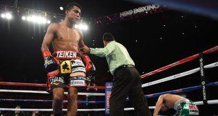Chocolatito González : el nuevo rey del boxeo pesa 50 kilos
