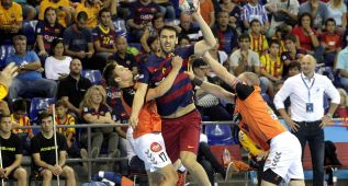 El Barcelona sufrió más de la cuenta ante el Kristianstad