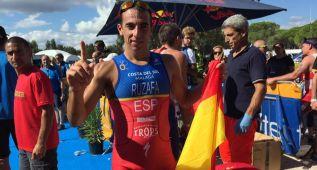 Rubén Ruzafa, bicampeón del mundo de triatlón cross