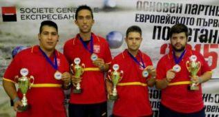 España logra el bronce en el Europeo de petanca