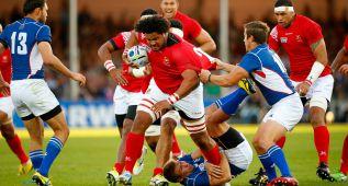 Tonga derrota a Namibia y se jugará el pase con Argentina