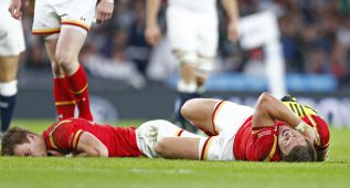 Gales resiste heroica sin cinco jugadores titulares lesionados