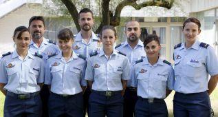 Las paracaidistas españolas, preparadas para un gran salto