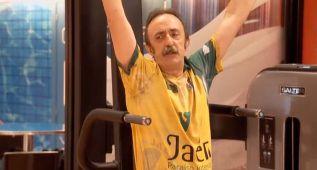 Santi Rodríguez no olvida a su Jaén Paraíso en 'Gym Tony'