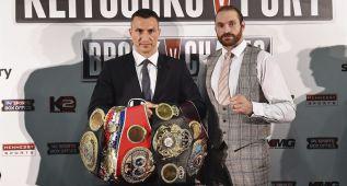 El esperado Klitschko-Fury tiene nueva fecha: el 28 de noviembre