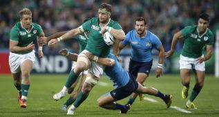 Irlanda gana a Italia y pasa a cuartos de la mano de Francia