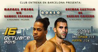Guzmán Castillo y Rafael Pujol vuelven al ring en Barcelona