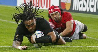 Los All Blacks arrollan a Tonga y meten a Argentina en cuartos