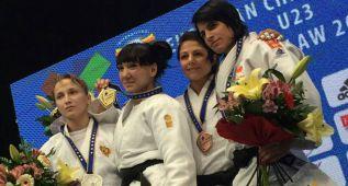 Cinta García consigue la medalla de bronce en Lisboa