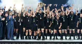 Los All Blacks consiguen su tercer Mundial en Twickenham