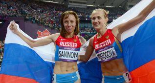 Posible sanción a perpetuidad para cinco atletas rusas