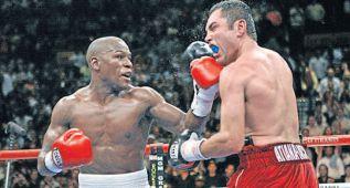 """De la Hoya, a Mayweather: """"El boxeo será mejor sin ti"""""""
