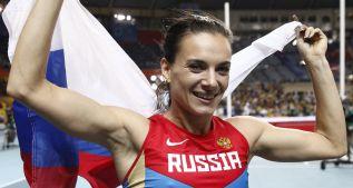 Isinbayeva podría participar en Rio bajo la bandera olímpica