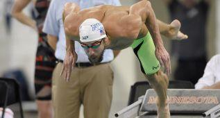 Phelps gana su primera carrera del curso con miras a Rio 2016