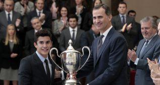 Márquez y Nairo Quintana reciben los Premios del Deporte