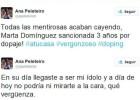"""Peleteiro, a Marta Domínguez: """"No podría mirarte a la cara"""""""