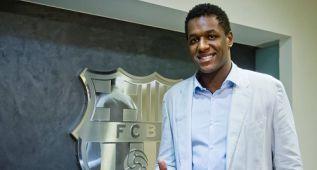Wael Jallouz amplía en dos años su contrato con el Barça