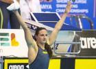 Hosszu le arrebata a Mireia el récord de 400 estilos