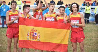 Oro para España y plata para Carlos Mayo en sub-23