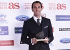 Godín recibió el premio AS América: