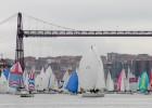 80 barcos se citan en el Puente Colgante en la Regata del Gallo