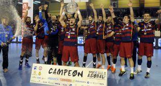 Sufrido título del Barcelona ante un Naturhouse indomable