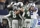 Los Jets ganan justitos y siguen vivos... Dallas dice adiós al 2015