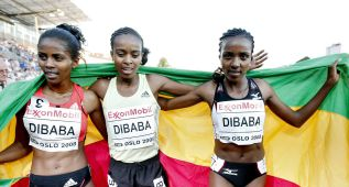 Tres hermanas Dibaba y 30 medallas internacionales