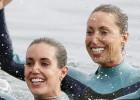 Ona Carbonell y Gemma Mengual, coreografía en el mar