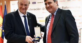 Miguel Roca recibió la Real Orden al Mérito Deportivo
