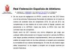 La RFEA admite que protegió a