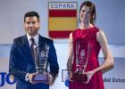 López y Ruth Beitia, los mejores por cuarto año consecutivo
