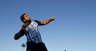 Borja Vivas lanza 20,72 en peso, marca mínima para Río