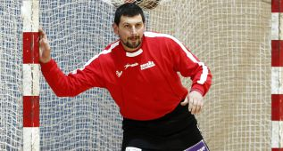Arpad Sterbik se ve listo para jugar mañana ante Dinamarca