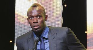 Usain Bolt sufre un esguince y estará dos semanas de parón