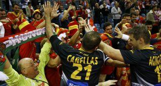 La semifinal entre España y Croacia en imágenes
