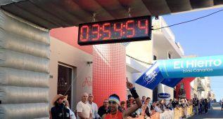 Christofer Clemente venció en la 'Maratón del Meridiano'